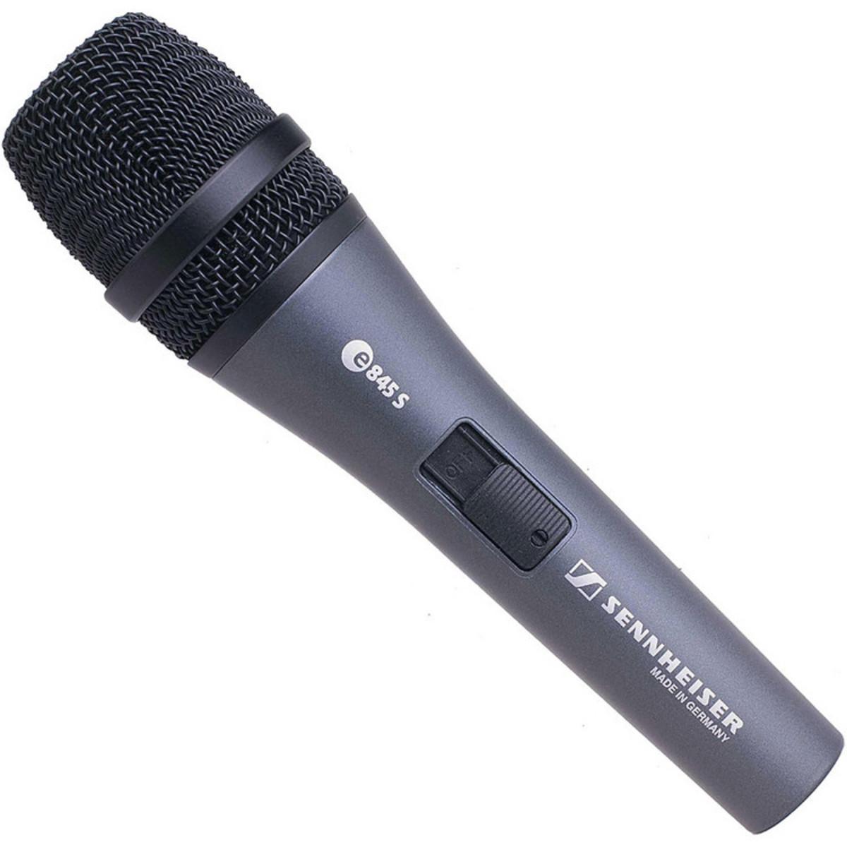 Sennheiser E845s Lead Vocal Microphone Switch Box Opened