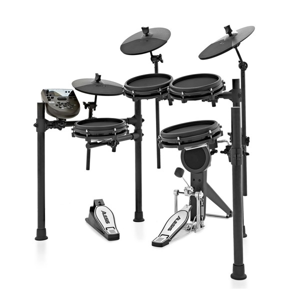 Alesis Nitro Mesh Complete Bundle - Side View of Kit