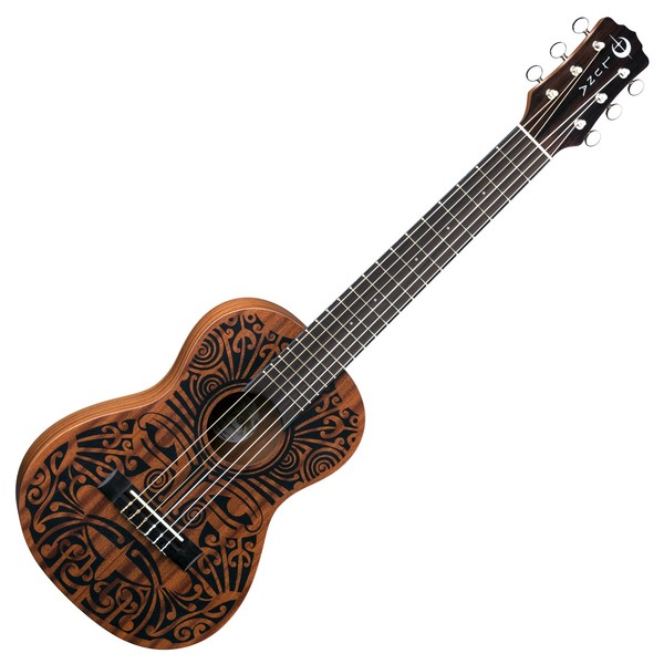 Luna Tribal 6 String Baritone Guitarlele