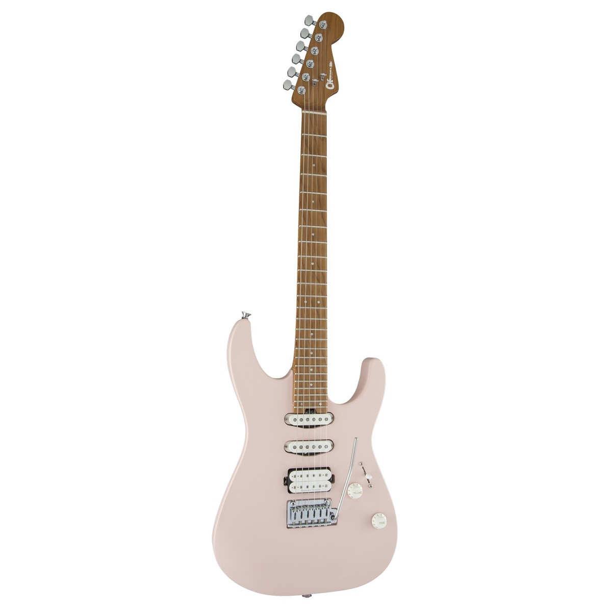 Charvel Pro Mod Dk24 2pt Hss Shell Pink At Gear4music Hsh Strat Wiring Options The Gear Page Loading Zoom