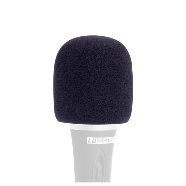 LD Systems Vocal Microphone Windscreen, Black