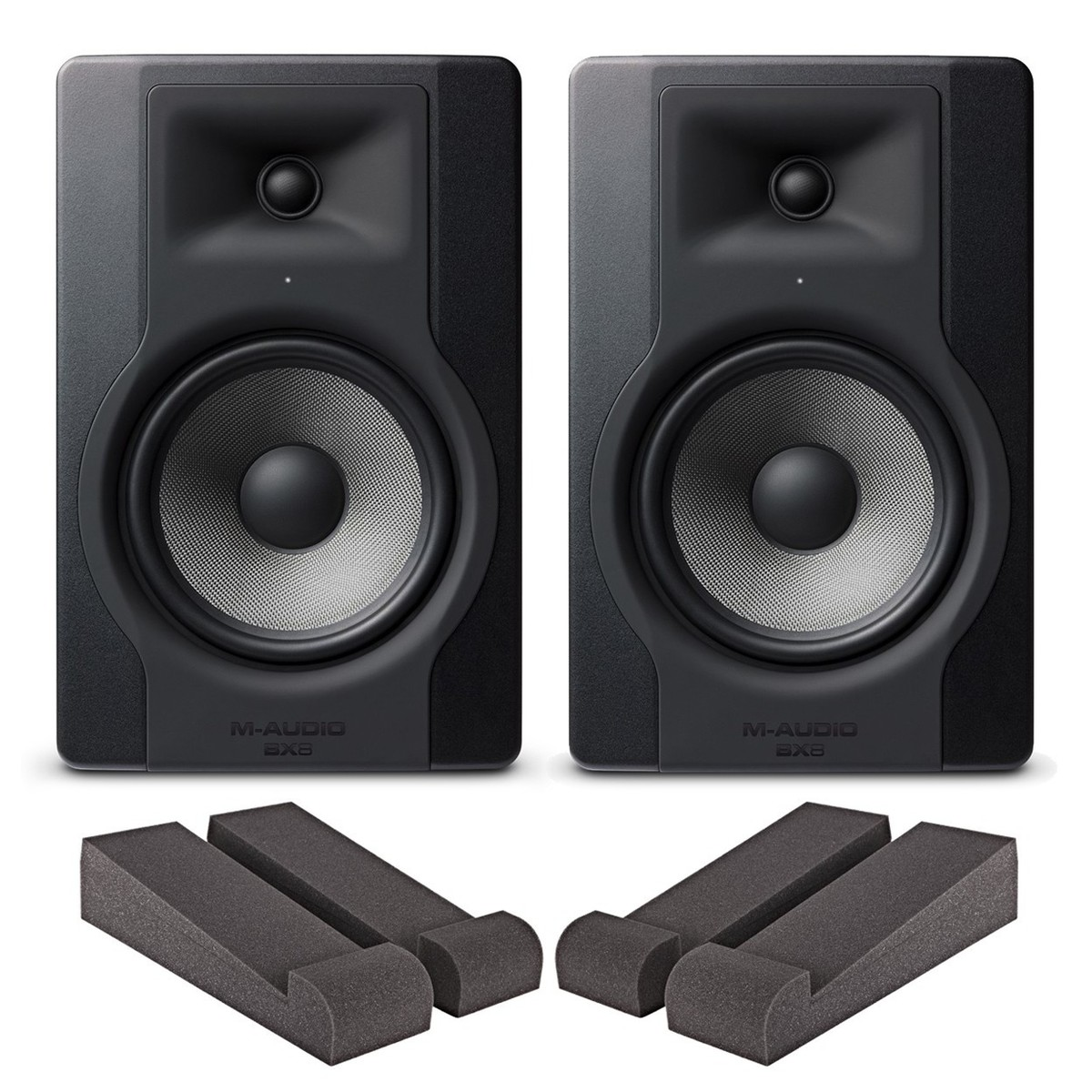 Cheap M-Audio BX8-D3 Pair with Iso Pads