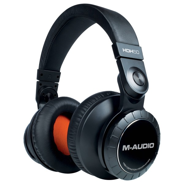 M-Audio HDH50 High Definition Headphones - Angled