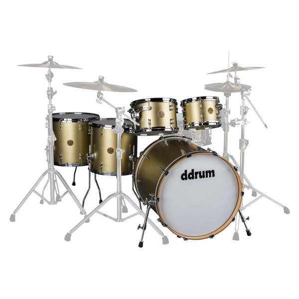 "DDrum Dios Maple 22"" 5pc Shell Pack, Satin Gold - Main Image"
