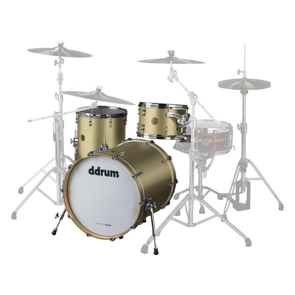 DDrum Dios Maple 20'' 3pc Shell Pack, Satin Gold - Main Image