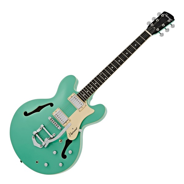 Hartwood Revival TM Semi Acoustic Guitar, Chevy Green