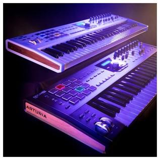 Arturia Keylab 61 MIDI Controller MKII, Black - Lifestyle 3
