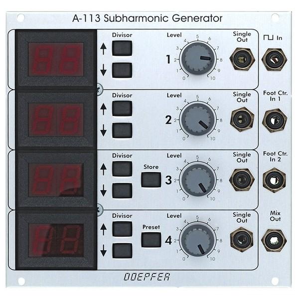 Doepfer A-113 Subharmonic Generator - Front