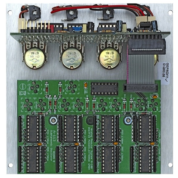 A-113 Subharmonic Generator Module - Rear