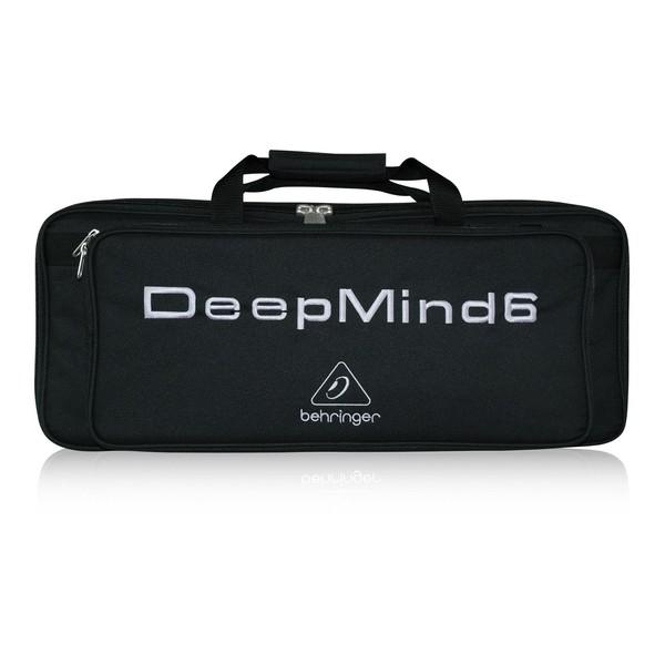 Behringer Deluxe Water Resistance Transport Bag for Deepmind 6, Front View