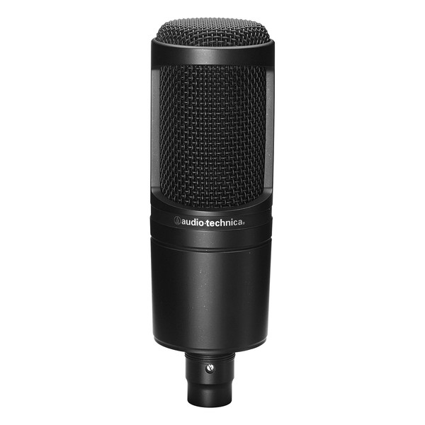 Audio Technica AT2020 Condenser Microphone, Front View
