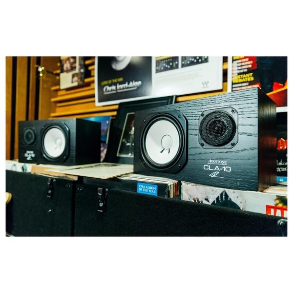 Avantone CLA-10 Passive Studio Monitors, Pair - Lifestyle 1