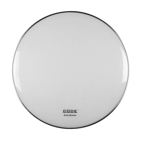 CODE 24'' Enigma White Bass Drum Reso Head