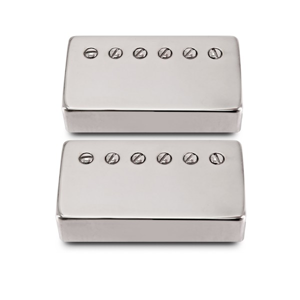 Bare Knuckle True Grit Humbucker Set, Nickel Covered 50mm