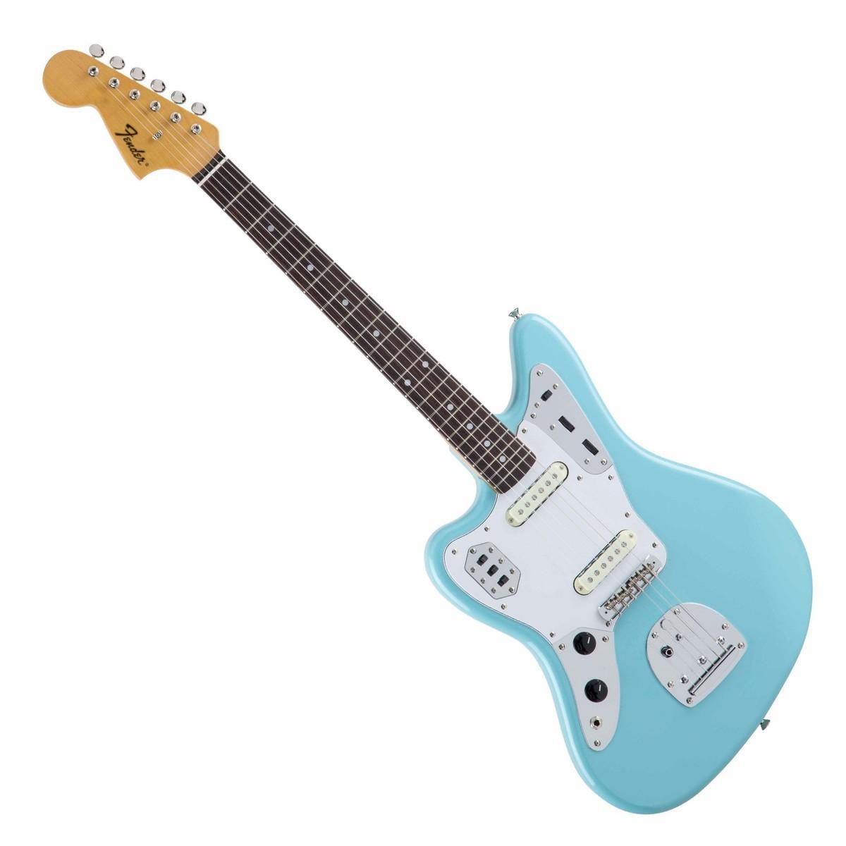 Fender MIJ Traditional '60s Jaguar Left Handed, Daphne Blue