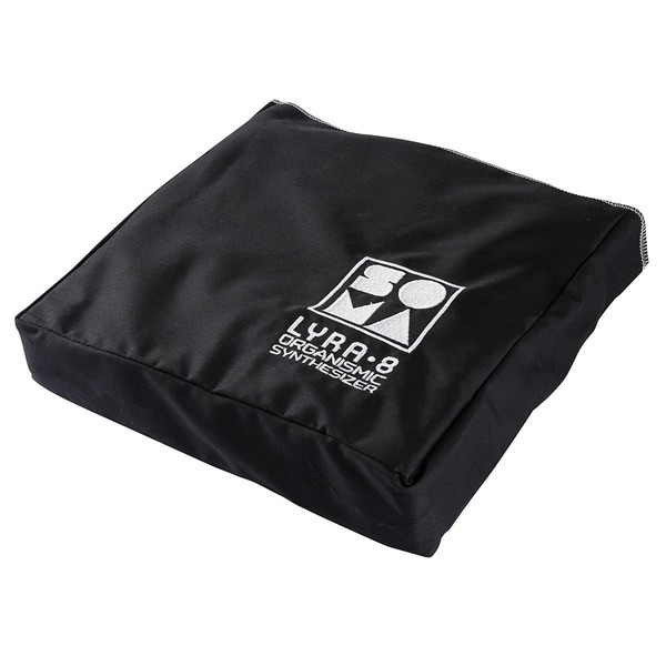SOMA Official Branded Cotton Dust Cover, Black - Main