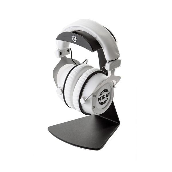 K&M 16075 Headphones Table Stand, Black