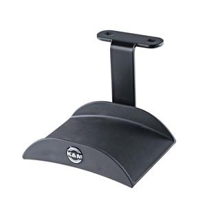 K&M 16330 Headphone Holder, Black