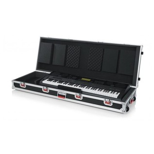 Gator G-TOUR 88V2, Inside with Keyboard