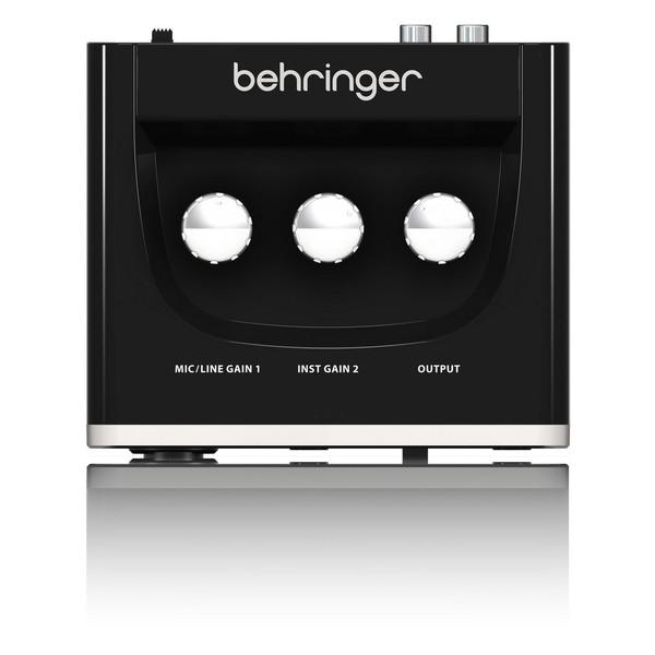 Behringer U-Phoria UM2 USB Audio Interface - Top