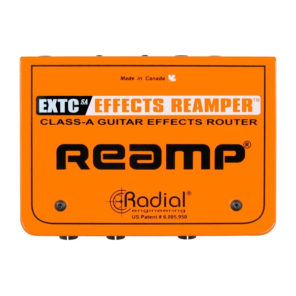 Radial EXTC-SA Guitar Effects Interface and Reamp Box - Top View