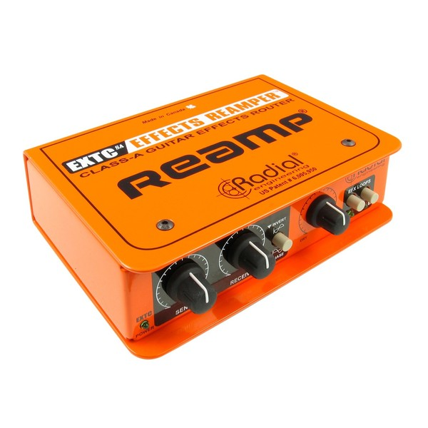 radial extc sa guitar effects interface and reamp box at gear4music. Black Bedroom Furniture Sets. Home Design Ideas