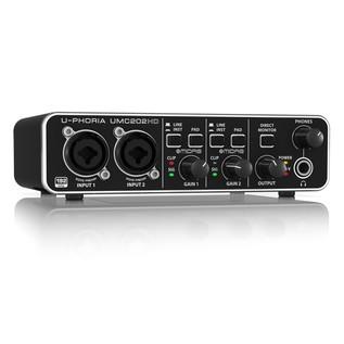 Behringer U-PHORIA UMC202HD USB Audio Interface - Angled