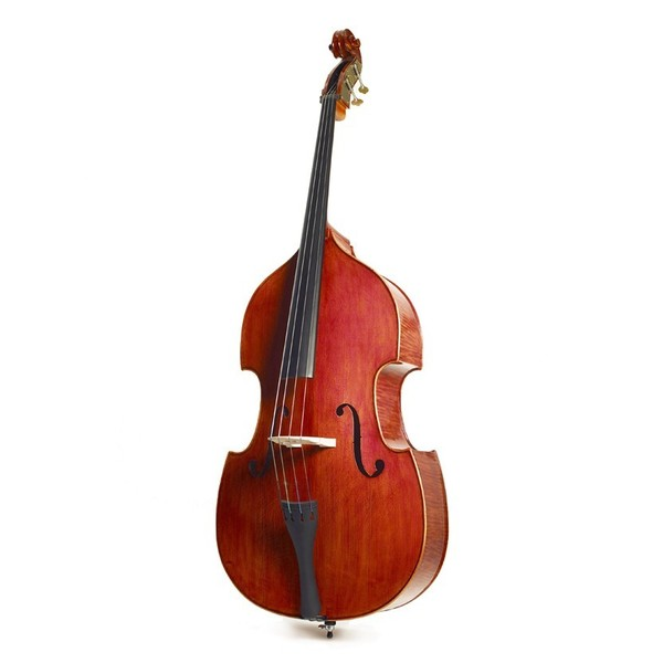 Stentor Graduate Double Bass Solid 3/4 Enhanced Figure, Front