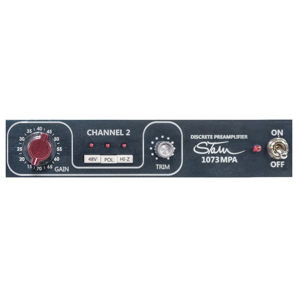 Stam Audio 1073MPA Preamplifier (Sowter) - Close Up
