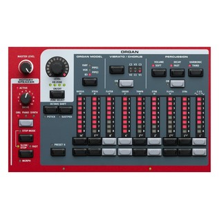 Nord Stage 3 88 Digital Piano - Organ Section