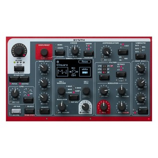 Nord Stage 3 88 Digital Piano - Synth Section