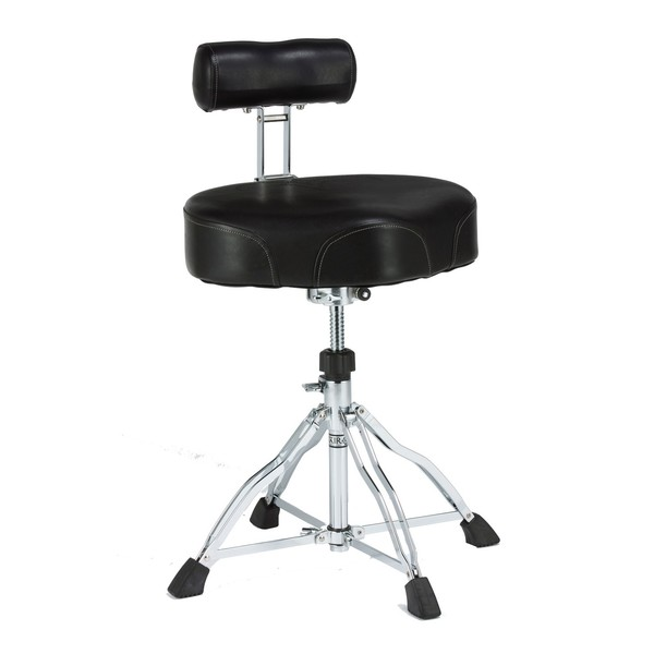 Tama HT741B First Chair Ergo Rider Drum Throne with Back Rest - Main Image