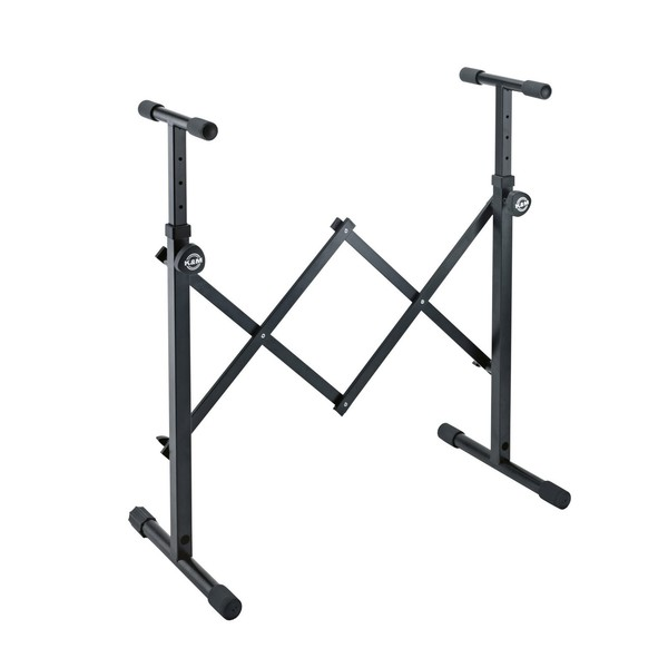 K&M 18826 Equipment Stand, Black