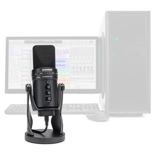Samson G-Track Pro USB Condenser Microphone - Lifestyle (Computer Not Included)