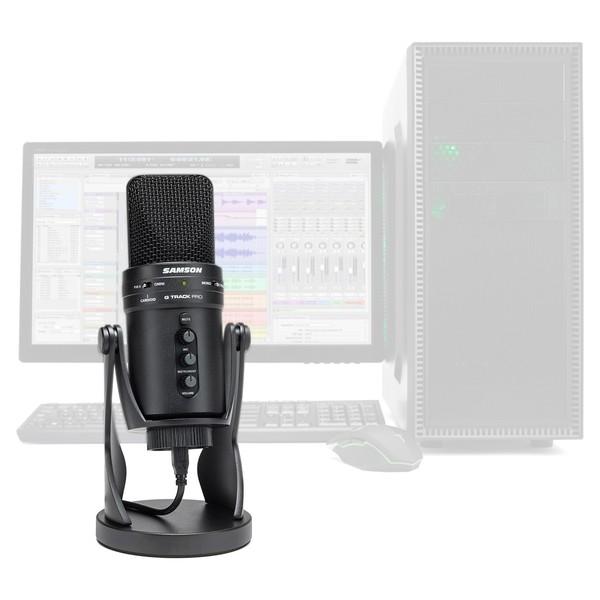 Samson G Track USB tilkoblet kondensatormikrofon Kjøp