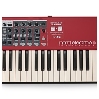Nord Electro 6D 61-Note Keyboard with Free Accessories