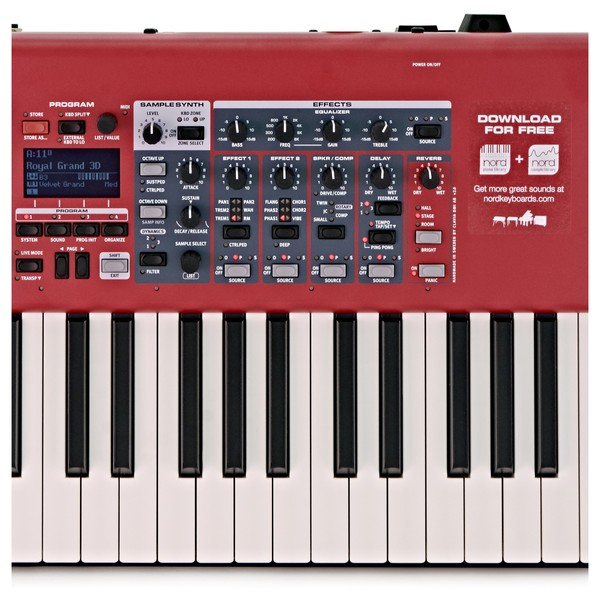 nord electro 6 hp 73 note keyboard with accessories at gear4music. Black Bedroom Furniture Sets. Home Design Ideas