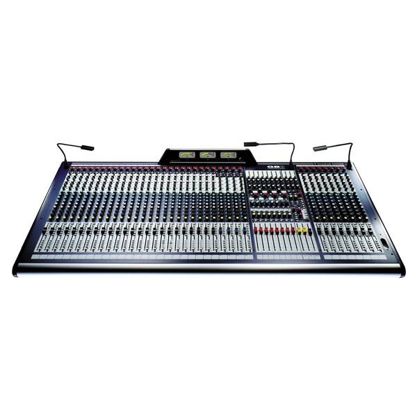 Soundcraft GB8-32 32-Channel Analog Mixer, Front View