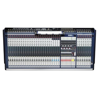 Soundcraft GB8-32 32-Channel Analog Mixer, Top Down View