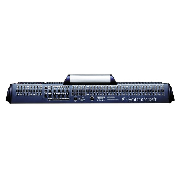 Soundcraft GB8-32 32-Channel Analog Mixer, Rear View