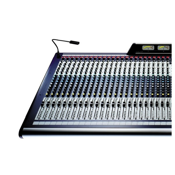 Soundcraft GB8-32 32-Channel Analog Mixer, Front View Left