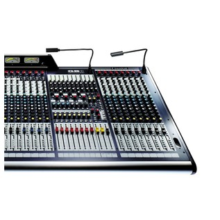 Soundcraft GB8-32 32-Channel Analog Mixer, Front View Right