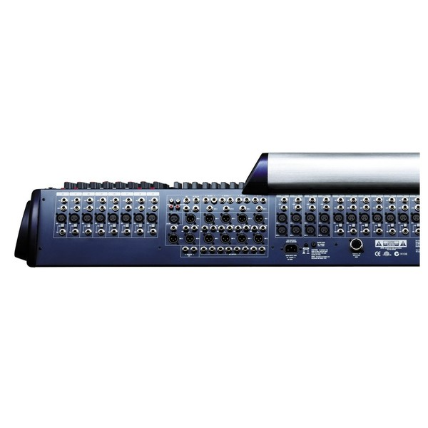Soundcraft GB8-32 32-Channel Analog Mixer, Rear View Left