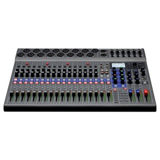 Zoom L-20 LiveTrak Digital Mixing Console - Front