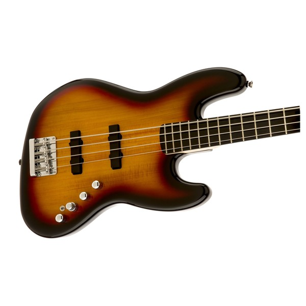 Squier Deluxe Jazz Bass IV Active, Sunburst R