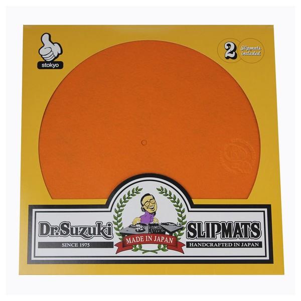 """Dr Suzuki Slip Mats - Mix Edition 12"""", Orange - Main"""