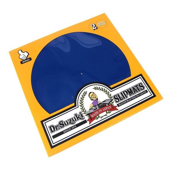 "Dr Suzuki Slip Mats - Mix Edition 12"", Blue - Main"