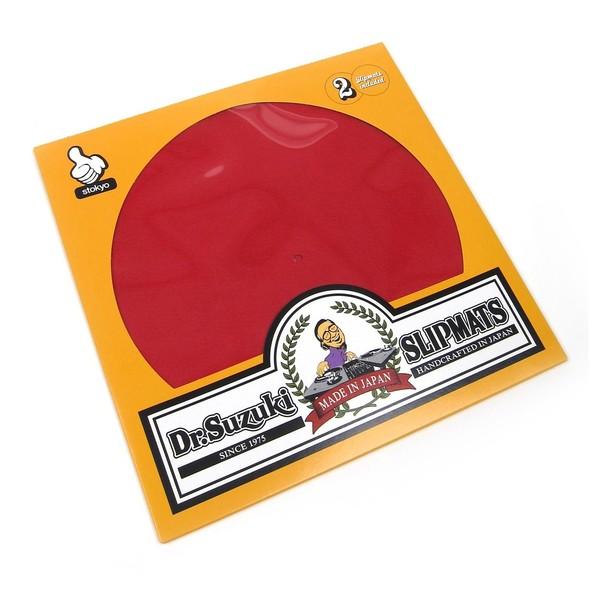 """Dr Suzuki Slip Mats - Mix Edition 12"""", Red - Main"""