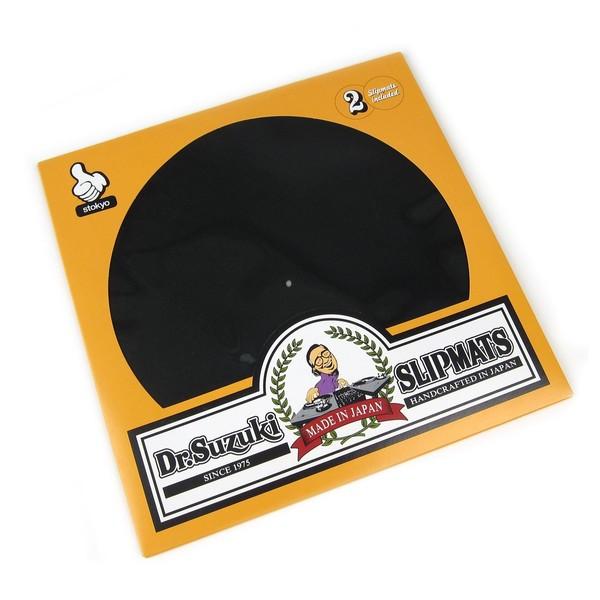 """Dr Suzuki Slip Mats - Mix Edition 12"""", Black - Front"""