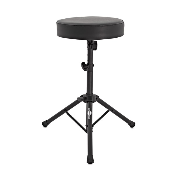 Drum Throne Stool by Gear4music, Black